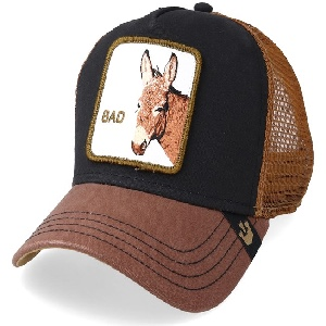 Gorra Goorin Bros 101-0050 bad ass black/brown G-242