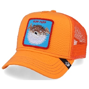 Gorra Goorin Bros 101-0635 puff orange osfa G-241