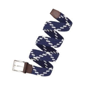 Cinturón Corda Caballero Elastico Trenzado CNT-28