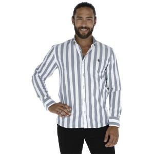 Camisa Porto Blanco Clasica Caballero C-1323