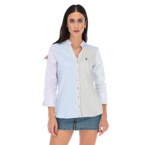 Camisa Porto Blanco Edición Lujo Dama LD-1566