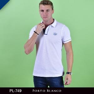 Polo Porto Blanco Clasica Caballero PL-749