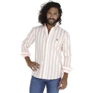Camisa Porto Blanco Clasica Caballero C-1324