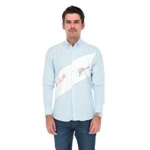 Camisa Porto Blanco Edición Lujo Caballero L-1559