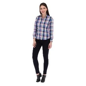 Camisa Porto Blanco Clasica Dama D-1237